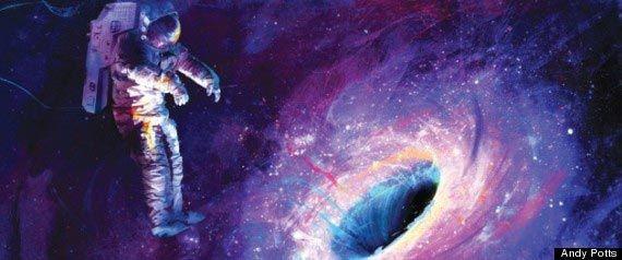 ブラックホールに人間が吸い込まれたらどうなる!?止まって見える!?
