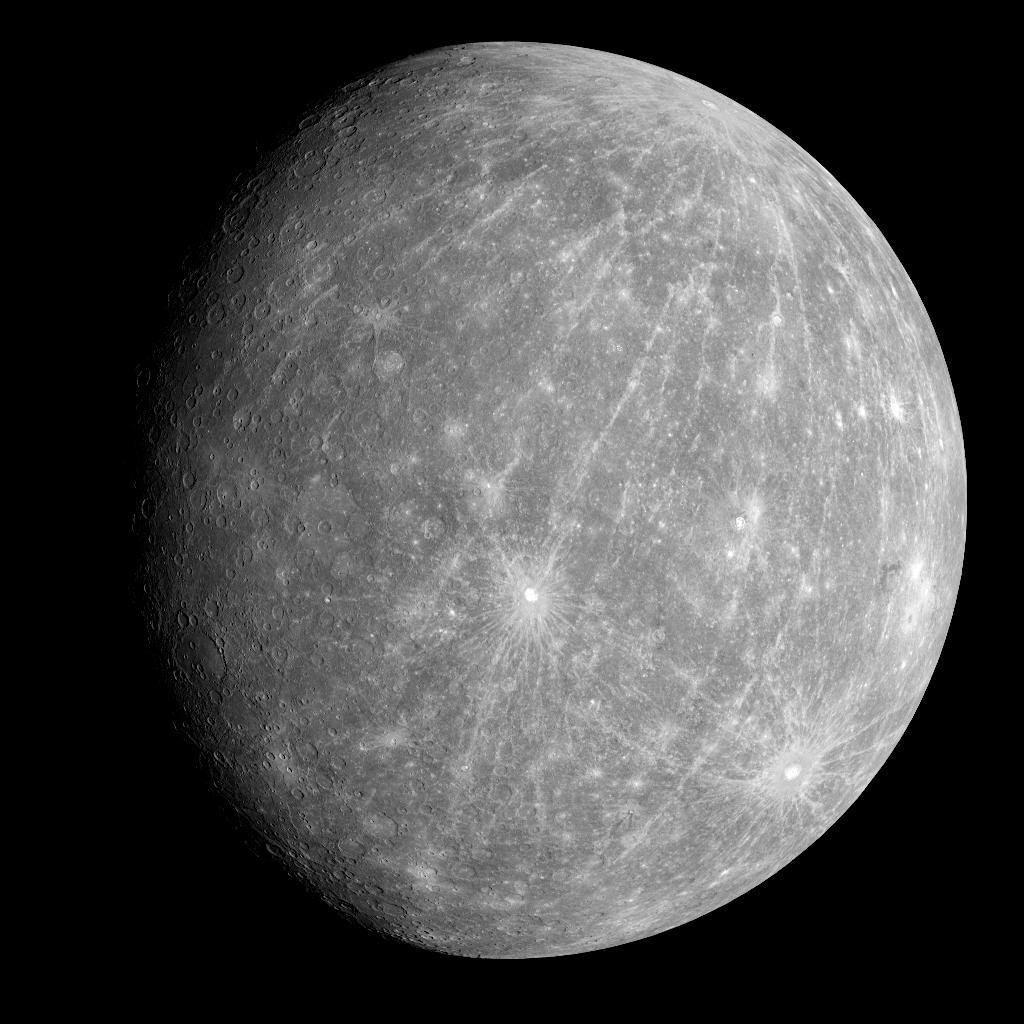 水星探査機が打ち上げ!!そもそも水星ってどんな星??